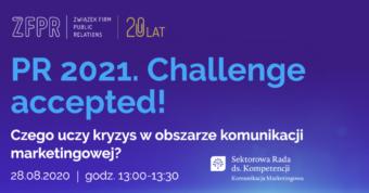 Ewa Opach i Marcin Olkowicz prelegentami konferencji PR 2021. Challenge accepted!