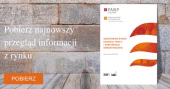 Monitoring rynku pracy, edukacji i komunikacji marketingowej. Edycja IV